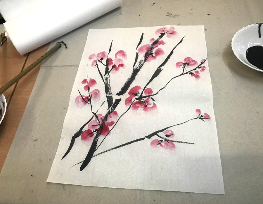 Taller de Caligrafía y Pintura China (2018)